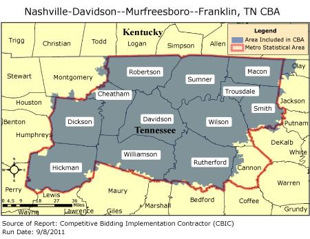 CBIC - Nashville-Davidson--Murfreesboro--Franklin, TN