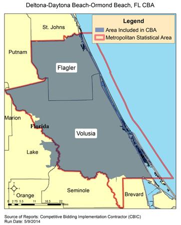 Image Of Deltona Daytona Beach Ormond Fl Cba Map