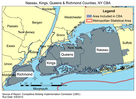 CBIC - Nau, Kings, Queens & Richmond Counties, NY Queens County Map on
