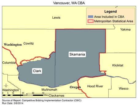 Zip Vofr Vancouver Washington Map on
